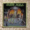 Overkill Under The Influence Woven Patch