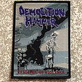Demolition Hammer Epidemic Of Violence Woven Patch (Black Border)
