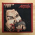 Anthrax Fistful Of Metal Woven Patch