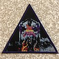Dark Angel Darkness Descends Triangle Woven Patch