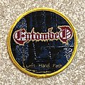Entombed Left Hand Patch Circle Woven Patch