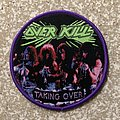 Overkill Taking Over Woven Patch (Purple Border)