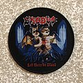 Exodus Let There Be Blood Woven Patch