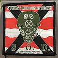 S.O.D. - Patch - Vintage S.O.D. Speak English Or Die Woven Patch