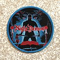 Night Demon Curse Of The Damned Woven Patch (Blue Border)