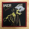 Razor Executioner's Song Woven Patch