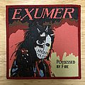 Exumer Possessed By Fire Woven Patch (Red Border)