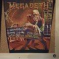 Vintage Megadeth Peace Sells... Backpatch