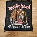 Motörhead - Patch - Motorhead Orgasmatron patch