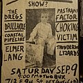 Punk show flier Other Collectable