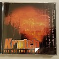 Krutch - I'll See You In Hell CD Tape / Vinyl / CD / Recording etc
