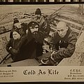Cold As Life press kit photo Other Collectable