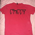 Cancer red logo shirt