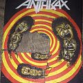 Anthrax - state of euphoria back patch