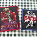 Megadeth and led zeppelin patches