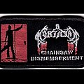 Mortician embroidered patches