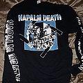Napalm death nazi punks blue longsleeve TShirt or Longsleeve