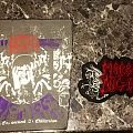 Napalm death and morbid angel back patches