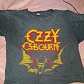 Ozzy Osbourne vintage tour crop top TShirt or Longsleeve