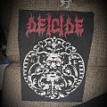 Deicide madallion back patch