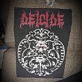 Deicide madallion back patch