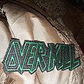 Overkill vintage logo patch