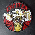 Exciter - Patch - Exciter long live the loud embroidered patch