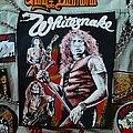 Whitesnake band shot back patch
