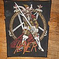 Slayer snm back patch
