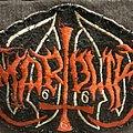 Marduk felt logo patch