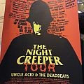 Uncle acid - night creeper tour poster  Other Collectable