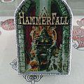 Hammerfall - Legacy Of Kings Patch(sliiver borders)