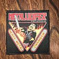 Metalucifer-Heavy metal chainsaw patch