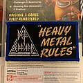Def Leppard - Heavy Metal Rules Patch