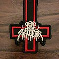 Nunslaughter Evil Cross 666  Patch