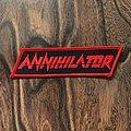 Annihilator Logo Patch