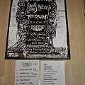 Bodyfarm - Other Collectable - Buried Alive Poster (signed)