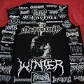Grave Upheaval - Battle Jacket - Second Vest (Black/White/Grey ---------- Death, War, Black, Doom)