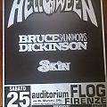 Helloween + Bruce Dickinson - Poster - Tour 96