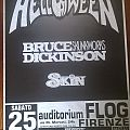 Helloween + Bruce Dickinson - Poster - Tour 96 Other Collectable