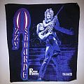 vintage ozzy randy rhoads tribute backpatch