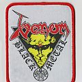 Venom - Black Metal (Curved Edges-Woven Patch)