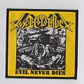 Toxic Holocaust - Evil Never Dies (Woven Patch)