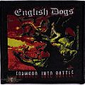 Patch - English Dogs - Forward Into Battle (Official Woven Patch)