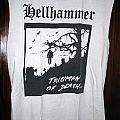 "Hellhammer - TShirt or Longsleeve - Hellhammer ""Triumph Of Death"" white shirt"