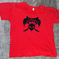 Voivod - TShirt or Longsleeve - Voivod old skull logo red shirt