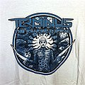 "Terminus ""The Reaper's Spiral"" white shirt"