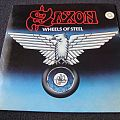 Saxon - Wheels of steel LP Tape / Vinyl / CD / Recording etc