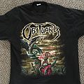 Obituary - Darkest Day 2010 Europe Tour shirt