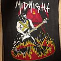 "Midnight ""Athenar On Fire"" Backpatch for trade."